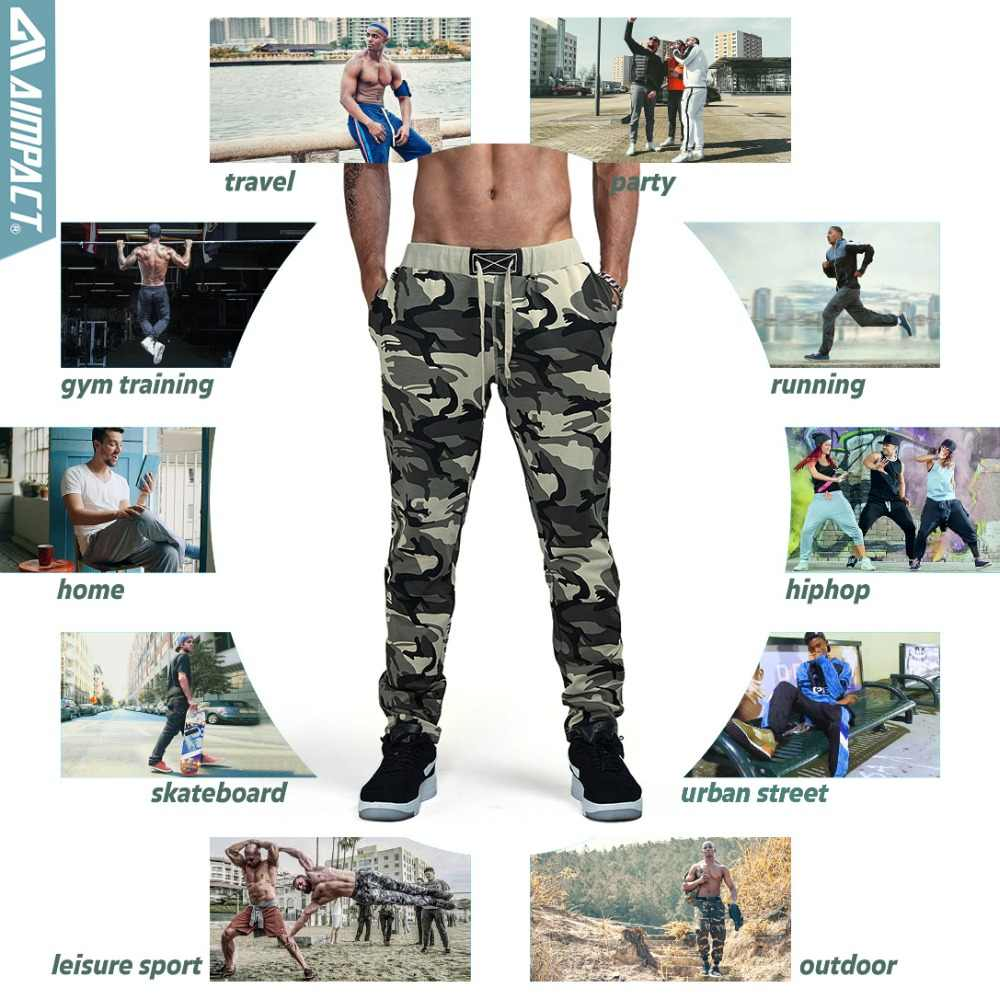 Aimpact камуфляжные брюки тренировочные брюки для мужчин Хлопковые Спортивные брюки мужской спортивный костюм повседневные брюки для фитнеса мужские спортивные брюки для бега