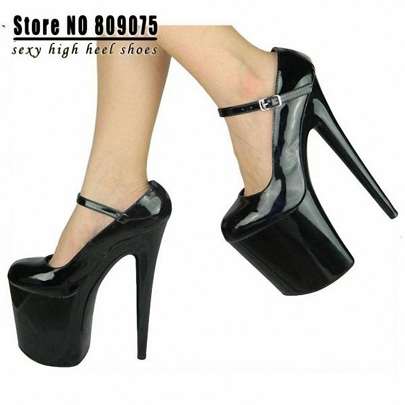 2015 Hot Sale Sapatos Femininos Salto Alto High Heel Shoes 20cm ...