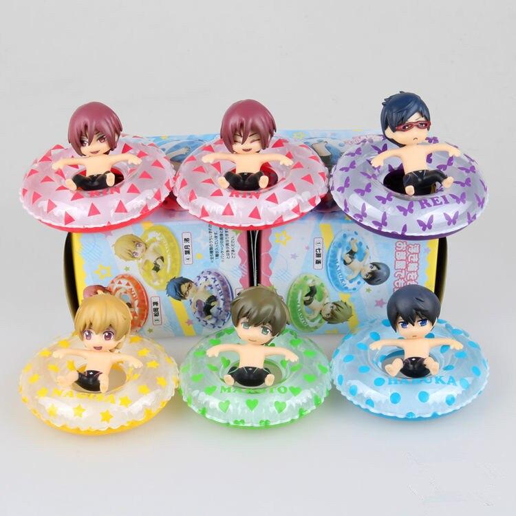 6Pcs/Lot Anime Kurokos Basketball Kuroko no Basuke Edition PVC Action Figure Tetsuya Basket Collection Model Toy