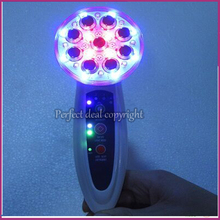 Needle Free RF Electroporation Mesotherapy 7 Colors Led Photon Therapy EMS Bio Microcurrent Face Lifting Body Beauty  Device