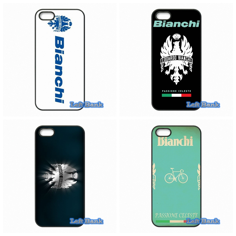 Bianchi Bike Logo Phone Cases Cover For Apple iPhone 4 4S 5 5S 5C SE 6 6S 7 Plus 4.7 5.5 iPod Touch 4 5 6