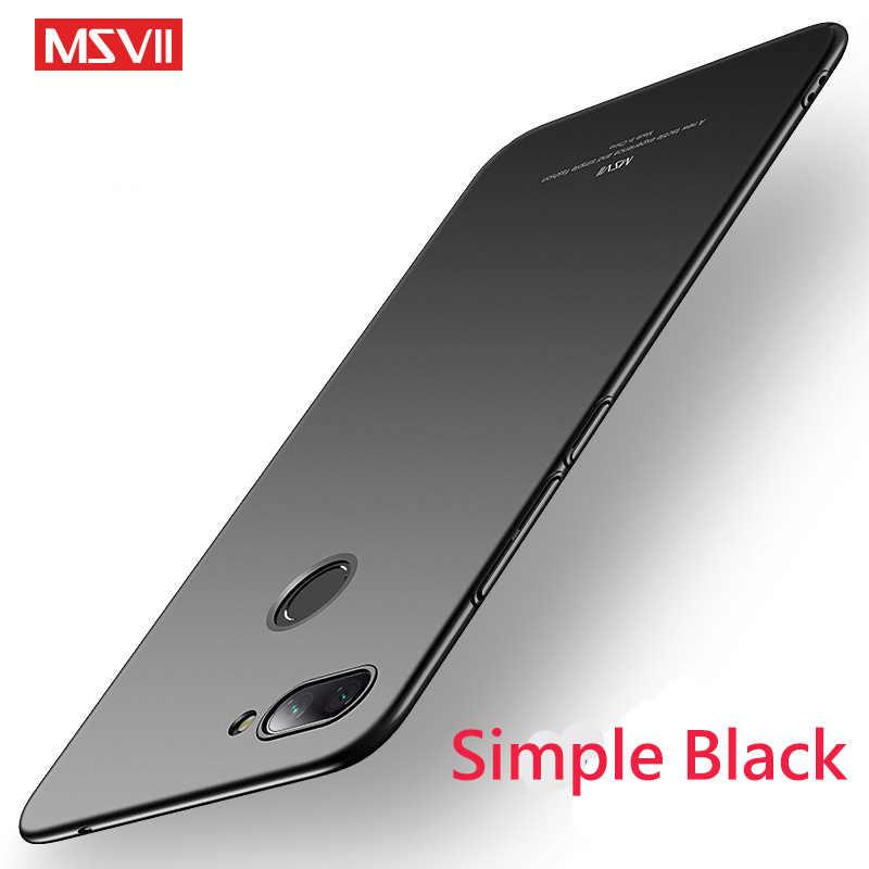 Msvii шикарный противоударный жесткий чехол для телефона бампер PC чехол на ксиоми ми 8 лайт 8лайт ми8 Xiaomi mi 8 Lite 64/128/256 GB Xio mi