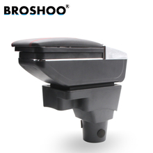 BROSHOO Car Armrest Central Store Content Storage Box With Cup Holder Ashtray Car Styling For Chevrolet Aveo Accessories