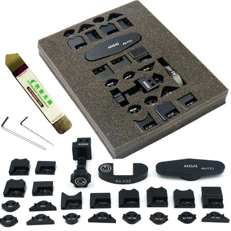 29 en 1 gTool iCorner b-series GB1100 pour iPhone 5 5S 6 plus iPad 2/3/4 mini iPod 4 coin flanc de la paroi outil de réparation