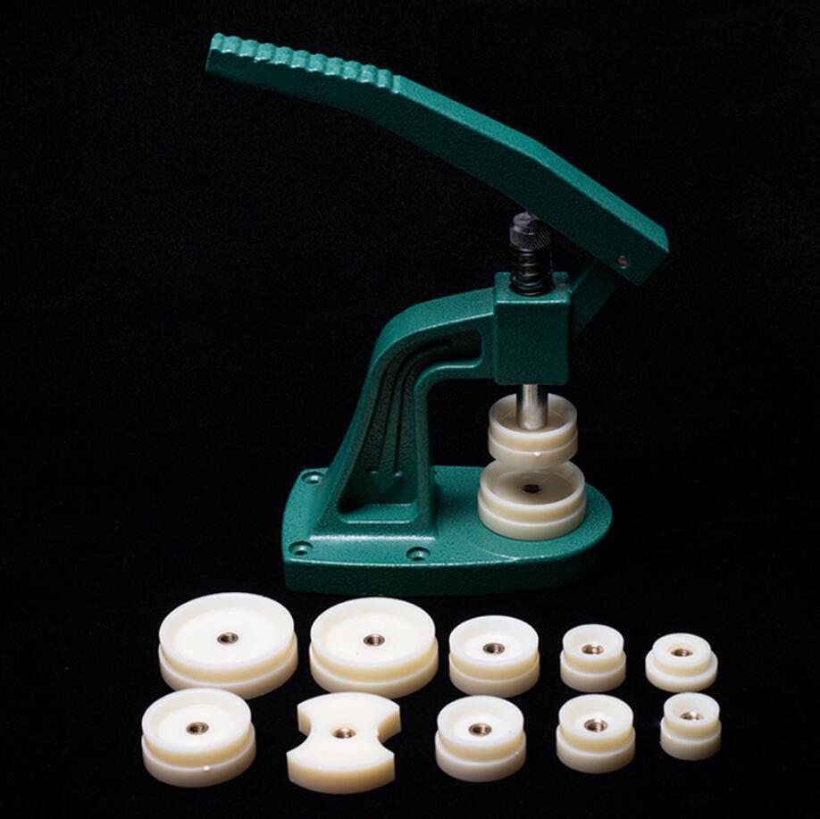 Reparatur-werkzeuge & Kits Sammlung Hier Kingbeike Uhr Zurück Drücken Fitting Stirbt Reparatur Tool Kit Uhr Zurück Näher Werkzeug Armbanduhr Fall Drücken Sie Werkzeuge Set Neue Stylle