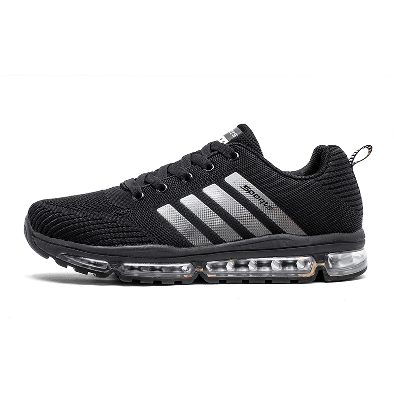 Men Sports Shoes Cushioning Lifestyle Man Sneakers Outdoor Breathable Sport Zapatillas Shoes Black Brand Air Running Shoes недорго, оригинальная цена