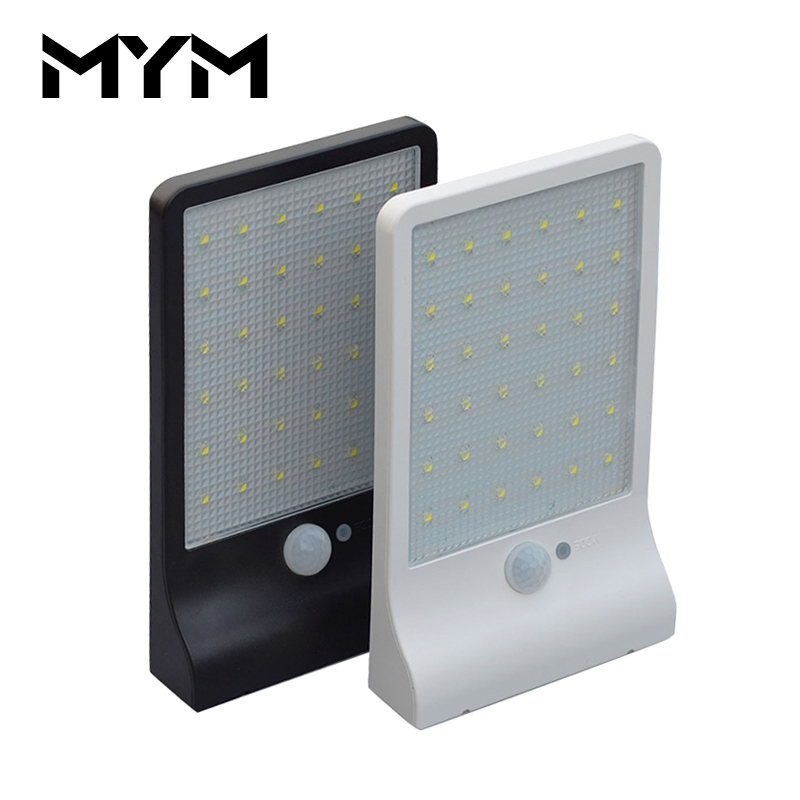 MYM Solar Wall Light Motion Sensor led Lighting Yard Outdoor Waterproof IP65 Street Solar Powered Lamp 36 LED Solar Garden Light ...
