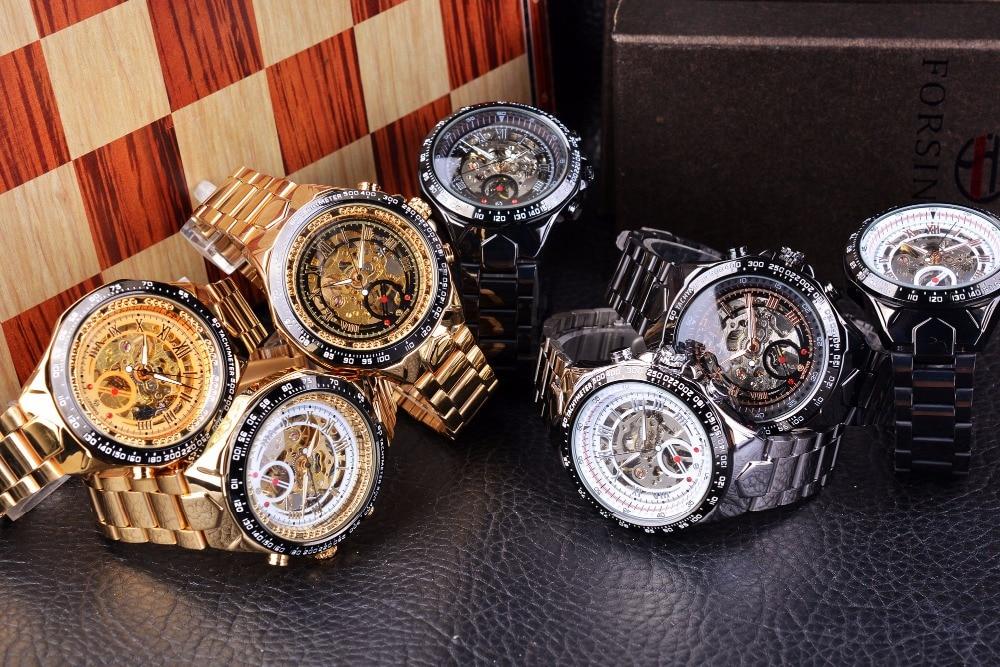 HTB1tGDkehTpK1RjSZR0q6zEwXXan Forsining Transparent Case Open Work Silver Stainless Steel Mechanical Skeleton Sport Wrist Watch Men Top Brand Luxury Men Clock