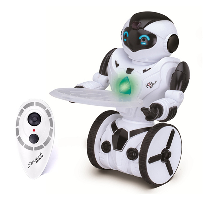 ФОТО High Quality JXD KiB Children Intelligent Balance RC Robot Wheelbarrow Dancing Toy Remote Control Musical Toys Birthday Gift