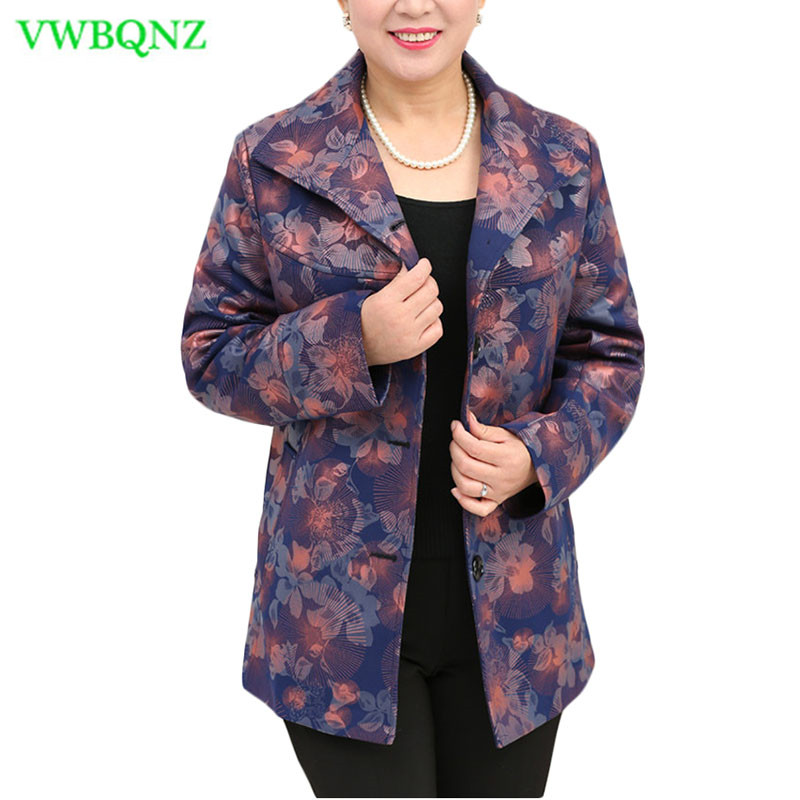 Extra Large Windbreaker coat Women Spring Autumn Loose Long   Trench   coats Women's Fashion Printing Cardigan Coats 8XL 9XL A177