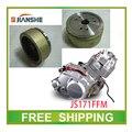 Envío JIANSHE LONCIN 250CC rodillo bobina magneto cubierta atv quad accesorios envío gratis