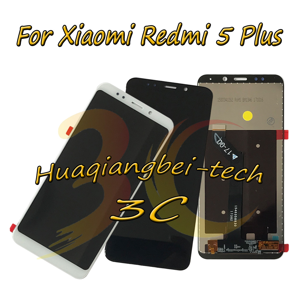 5.99'' New For Xiaomi Redmi 5 Plus / Redmi 5Plus Full LCD DIsplay + Touch Screen Digitizer Assembly 100% Tested
