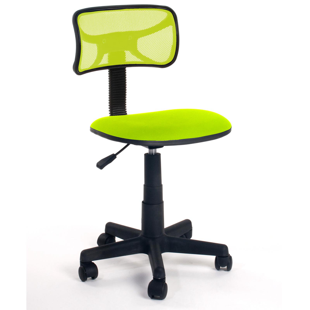 Office chairs in sri lanka - Aingoo Breathable Office Computer Chair Without Arms With Fabric Pads Height Adjustable 360 Degree Rotating Wheel