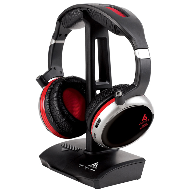 professional headset gamer agh200 gaming headset over ear headphone dj headphone with mic. Black Bedroom Furniture Sets. Home Design Ideas