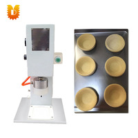 UDDT-G28 Low cost safety pneumatic egg tart making machine/tart press machine egg
