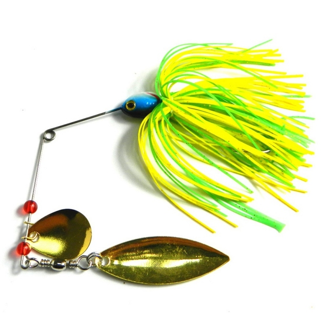 Double Willow Spinnerbait Multi-Color
