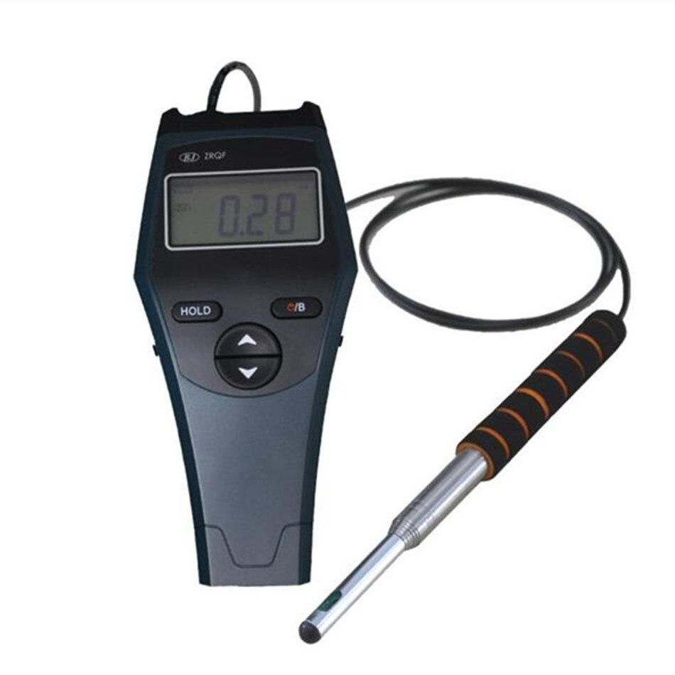 Anémomètre thermique de fil de boule chaude de ZRQF-F30J électronique