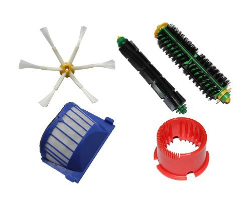Bristle Brush Flexible Beater Brush 6-armed Side Brush Cleaning Tool For iRobot Roomba 500 Series 536 550 551 552 564