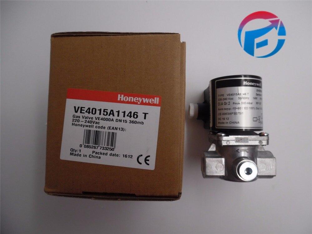 Honeywell Solenoid gas Valves VE4015A1146/ VE4015A1005  For burner New & Original honeywell ignition solenoid valves ve410aa1003t 3 8 for gas burner new