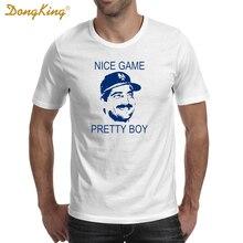 DongKing New Arrival Men's Fashion Nice Game Pretty Boy Design Tshirt Cool Tops Short Sleeve Hipster Tshirt Tees Brand clothing