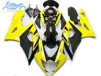 High grade Fairing kits for SUZUKI 2005 2006 GSXR1000 motorcycle sport race fairings kit 05 06 GSXR 1000 K5 yellow black parts