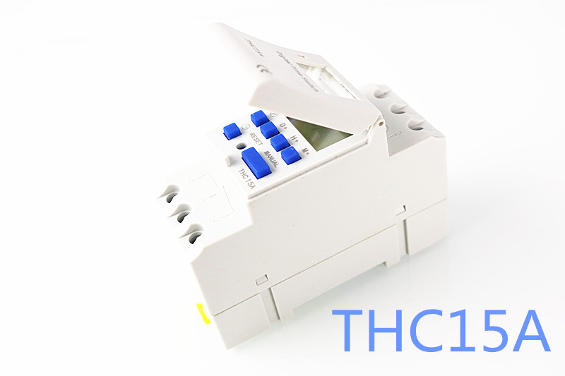 THC15A TP8A16 THC 15A DIN RAIL DIGITAL PROGRAMMABLE Digital LCD Weekly Programmable Timer Relay Switch 12V 24V 110V 220V 1pc electronic weekly 7 days programmable timer thc15a ahc15a digital time timer switch relay din rail ac dc 12v 24v 110v 220v