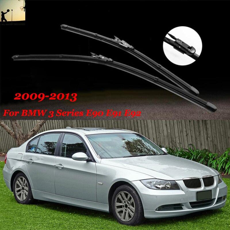 "Car styling Car Windshield Wiper Blade For BMW 3 Series E90 E91 E92 E93 24""&19"" Apply to 2009 ..."