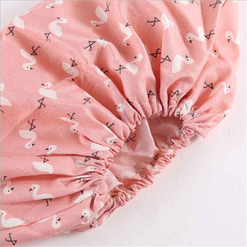 1 par Reutilizável Engrossar Elástico Tampa Da Sapata Máquina Estudante Quarto Home Indoor Antiderrapante Galochas Flamingo Pés À Prova de Poeira Cobre