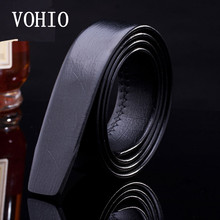 VOHIO Hot mens belt leather cinturon hom