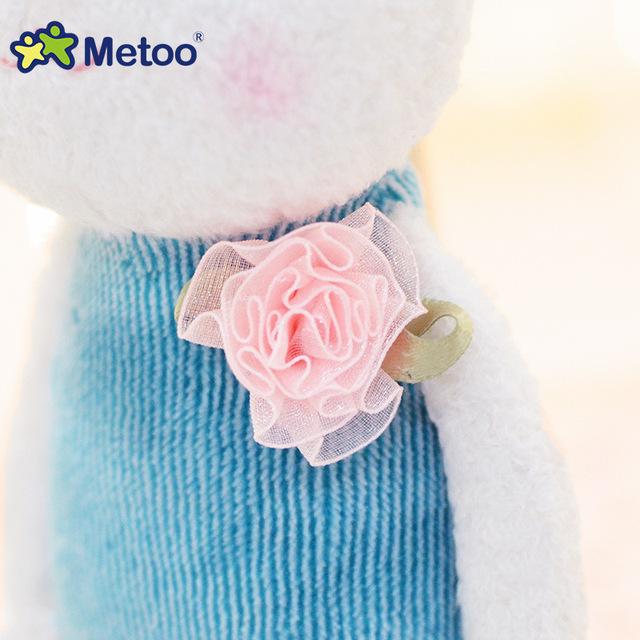 Plush Sweet Cute Lovely Stuffed Pendant Baby Kids Toys for Girls Birthday Christmas Gift 22cm Tiramitu Rabbits Mini Metoo Doll