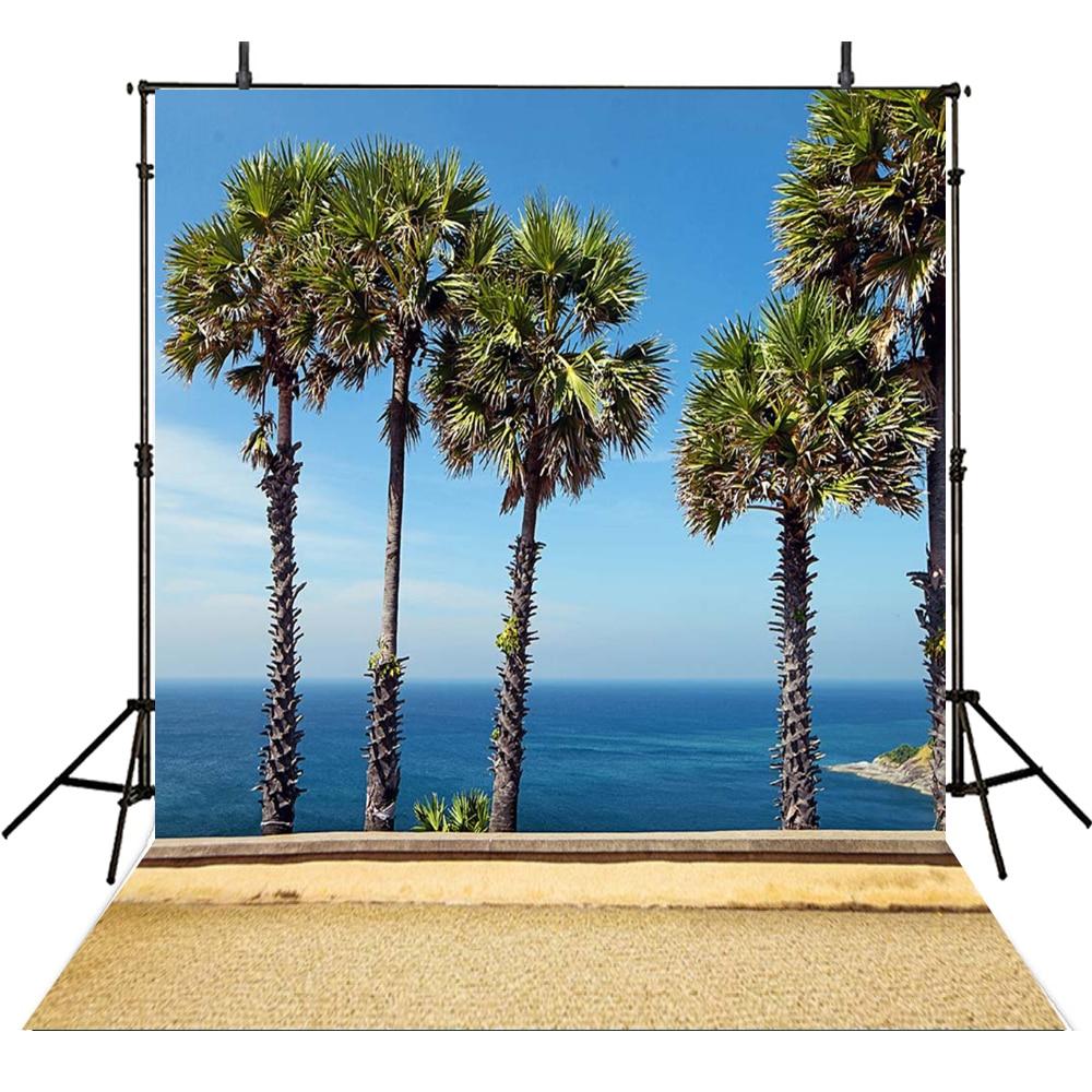 10x10ft Summer Photography Background Backdrops Custom Blue Sea Views  Backdrops for Photo Booth Camera Fotografia loogu 9m x 10m 29 5ft x 33ft sea blue