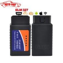 Новый Авто OBDII Код Читателя V1.5 ELM327 WI-FI Беспроводной Поддерживает все протоколы obd2 wi-fi elm 327 для для iphone ipad iPod