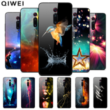 For Xiaomi Mi9T Case Tempered Glass Hard PC Back Cover For X