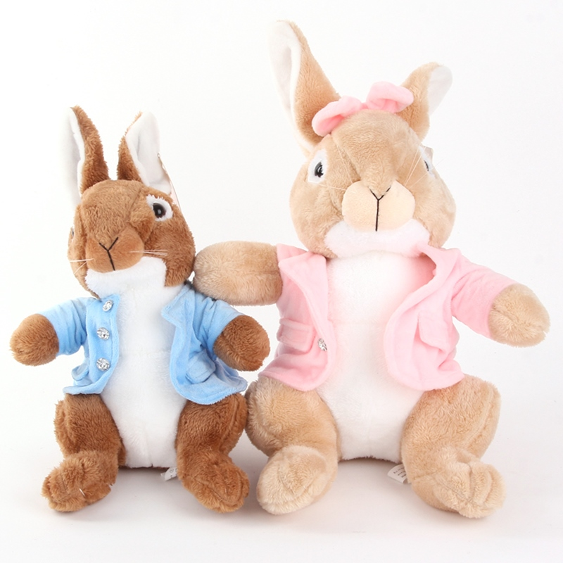15 inch 40cm/piece Stuffed Animals Plush Toys Peter Rabbit Bunny Soft Rabbit Toys for Kids birthday gift wedding gift