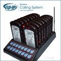 1 conjunto transmissor pager restaurante e teclado russa sistema de paginação de hóspedes