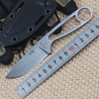 High Sales Ants 58 HRC Blade Knife Tactics Regenerated Grass Is D2 Survival Knife Blade Is