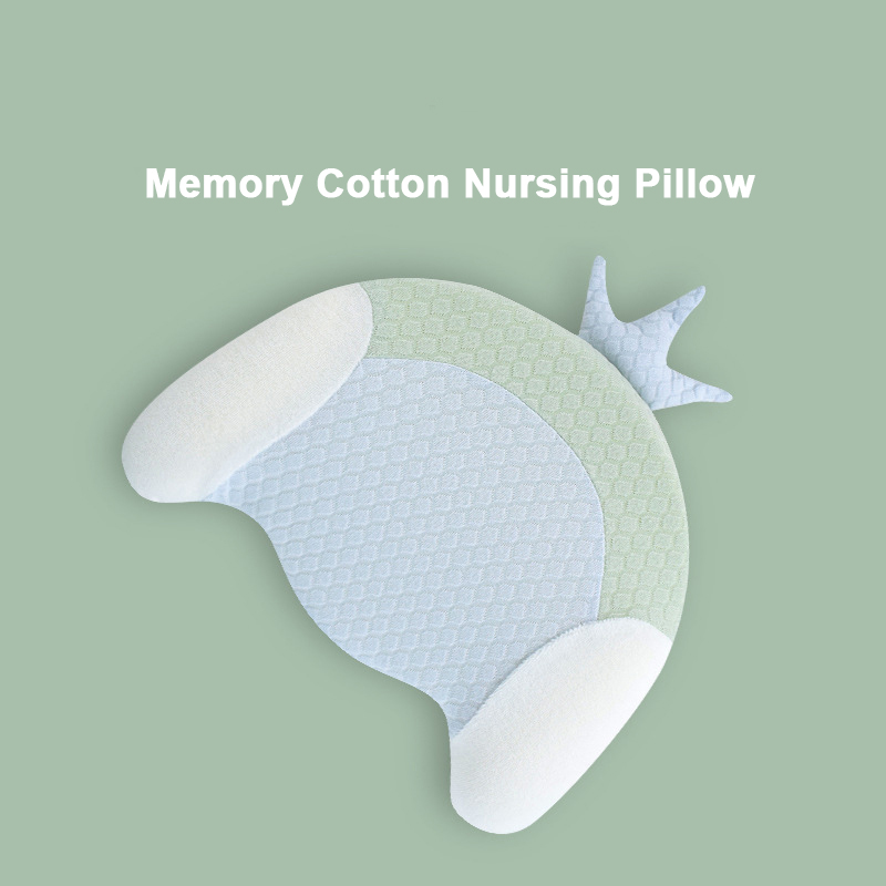 Baby Pillow Memory Form Newborn Infant Anti Roll Pillow Flat Head Neck Prevent Infant Support Gifts Kids Bedding Room Decoration