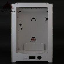 3D Drucker Rahmen Aluminium-kunststoff Acryl Box Shell Kompatibel Mit Ultimaker Um2 + Erweiterte Fall Shell 2 Hängen Filament löcher