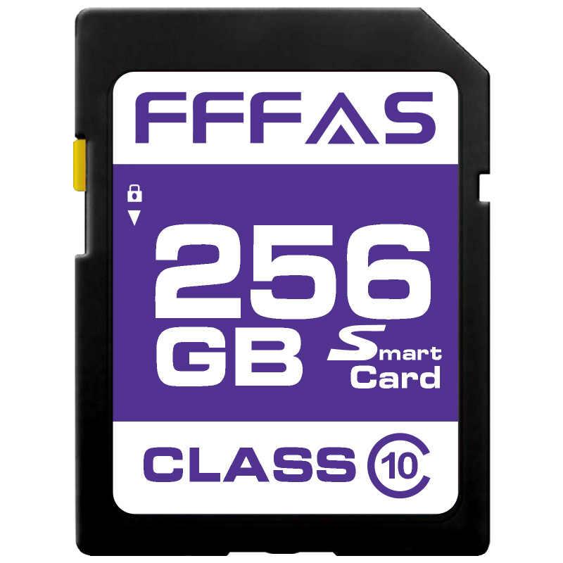 Разъем для SD карты со шлейфом 8 ГБ 16 ГБ 32 ГБ SDHC 64 Гб 128 ГБ 256 ГБ SDXC карты памяти класса 10 C10 USH-1 поддержка для камеры PC DV