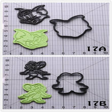 Popular Film Tom And Jerry Shape Biscuit Cutter Set Custom Made 3D Printed Cookie