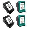 4X,Printer Ink Cartridge for HP 129 135 hp129 hp135 Deskjet 6940 6940dt 6943 6980 6980dt 6983 6988 D4145 D4155 D4160 D4163 D4168