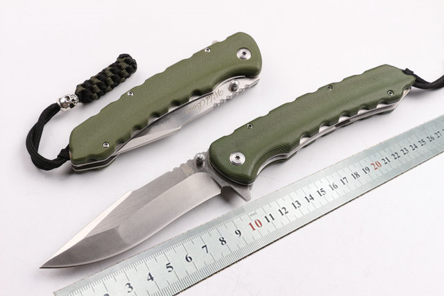high quality tactical folding knife camping hunting survival pocket gift knives D2 blade G10 handle EDC utility hand tools hot survival knife emerson pocket folding knife 440 blade g10 handle tactical hunting knifes camping knives outdoor tools kn356