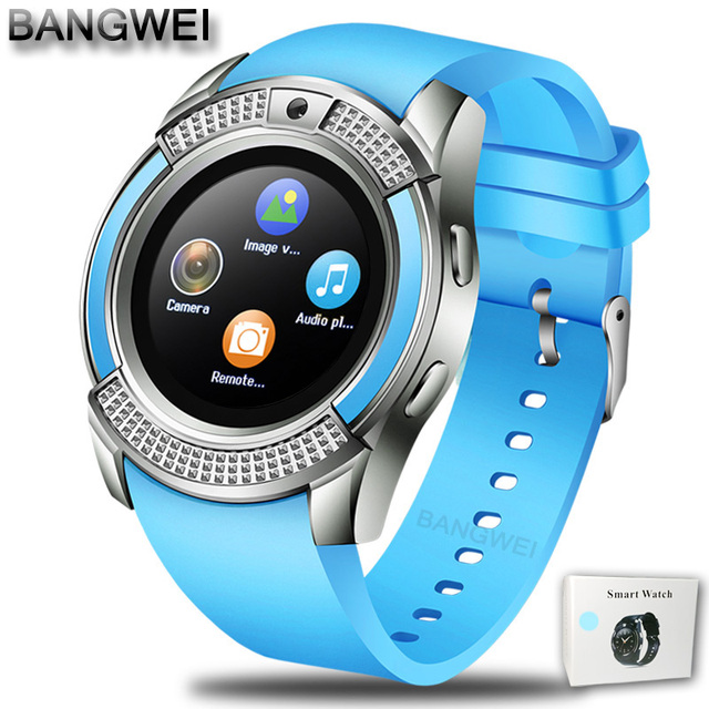 blue Smartwatch android 5c649caf6f148