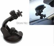 Бесплатная доставка + номер для отслеживания универсальный мини на присоске штатив держатель для GPS автомобиля DV DVR камеры