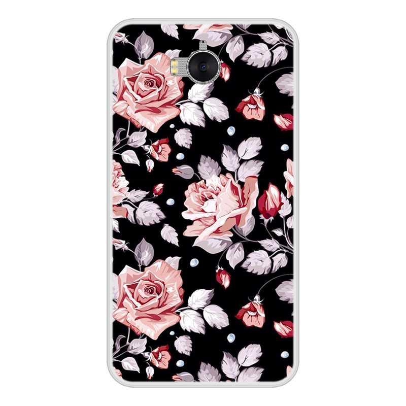الهاتف حافظة لهاتف Huawei Y6 Y5 Y7 رئيس 2017 2018 Y9 2019 لينة TPU الأزياء الغطاء الخلفي لهواوي Y3 Y5 Y6 II Y7 برو حالة سيليكون