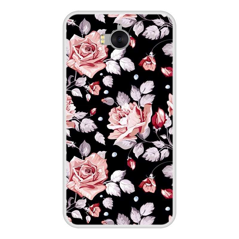 Phone Case For Huawei Y6 Y5 Y7 Prime 2017 2018 Y9 2019 Soft TPU Fashion Back Cover For Huawei Y3 Y5 Y6 II Y7 Pro Case Silicone