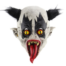 Halloween Horror Wizard Clown Masks Haunted Room Escape Dress Up Scary Ghost Mask Festive Party Mutant bat Supplies Decorat