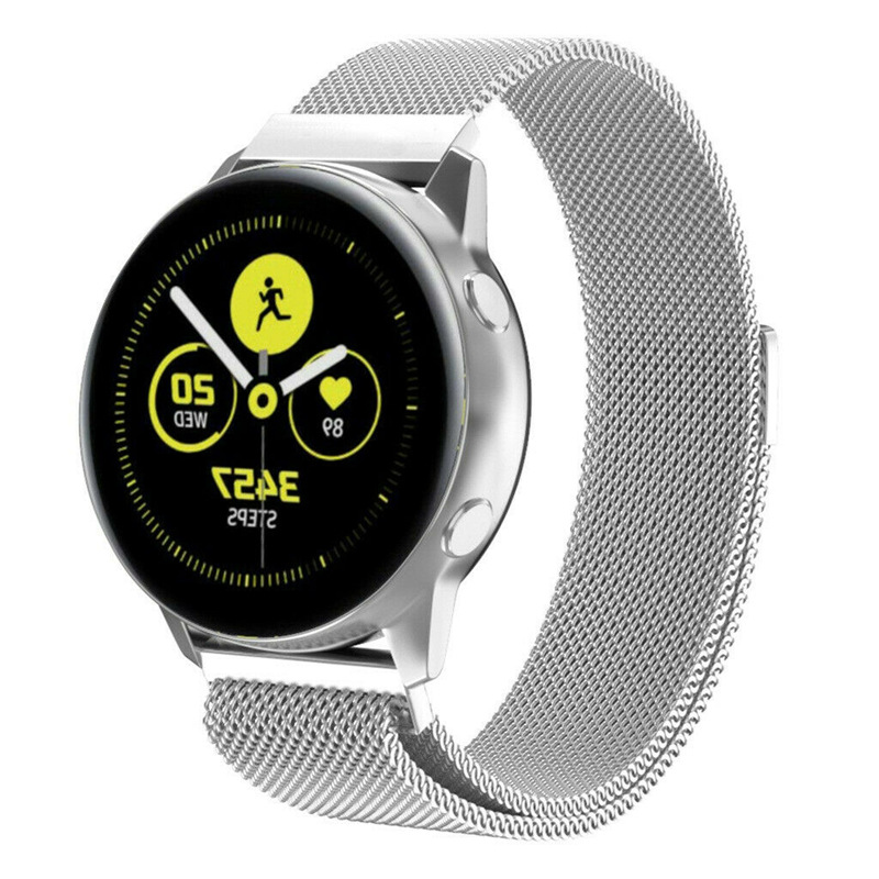 20mm Milanese Strap For Samsung Sport Gear S2 Galaxy Watch 42mm Bands Milanese Loop Mesh Bracelet For Galaxy Watch Active Band20mm Milanese Strap For Samsung Sport Gear S2 Galaxy Watch 42mm Bands Milanese Loop Mesh Bracelet For Galaxy Watch Active Band