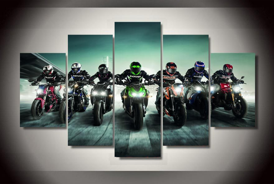 Motorcycle Wall Art online get cheap wall art motorcycle -aliexpress | alibaba group