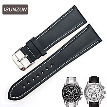 ISUNZUN is suitable for Tissot 1853 T039 V8 series Tissot Watch Strap Leather Watch Strap Watch with 22 special все цены